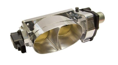 CFM Performance Twin 67mm Polished Billet Aluminum Throttle Body for  2007-2014 Mustang Shelby GT500