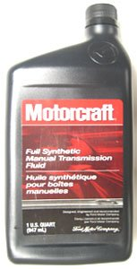 Motorcraft Full Synthetic Manual Transmission Fluid for Focus  Zetec/SVT/ST170/Duratec