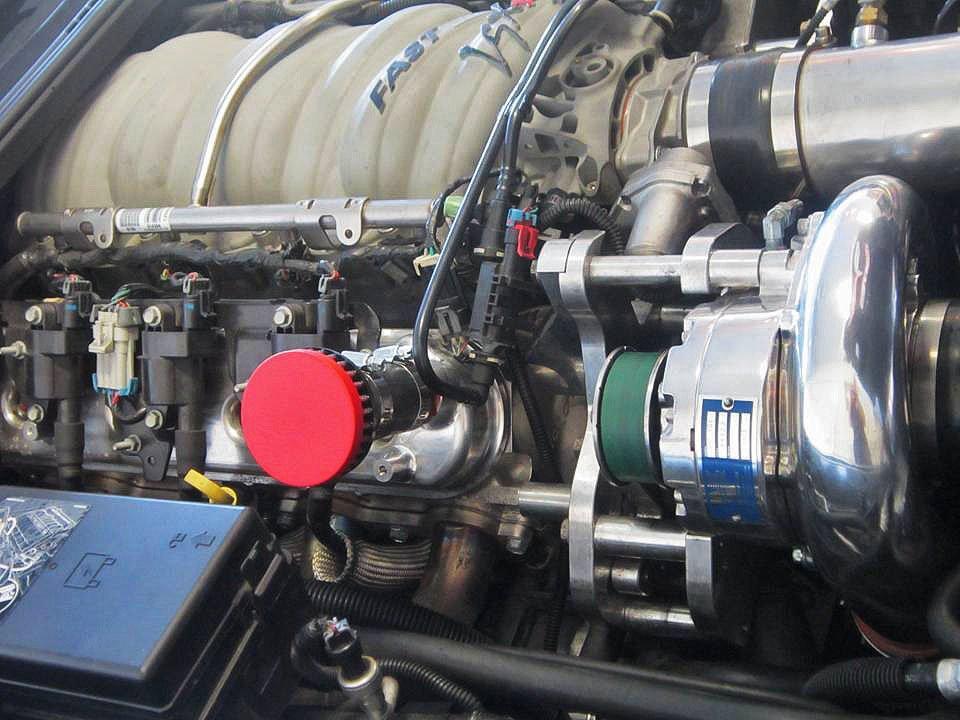 CFM Performance Billet Valve Cover Breather for 1997-2013 Chevrolet  Corvette LS1/LS6/LS2/LS3/LS7