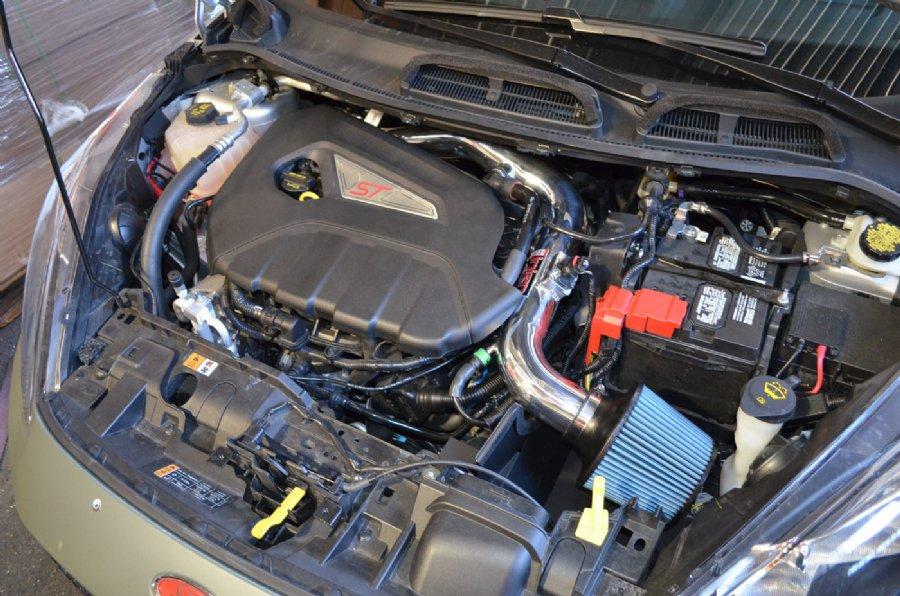 2016 Mustang V6 Exhaust >> Injen Short Ram Air Intake for 2014-15 Fiesta ST