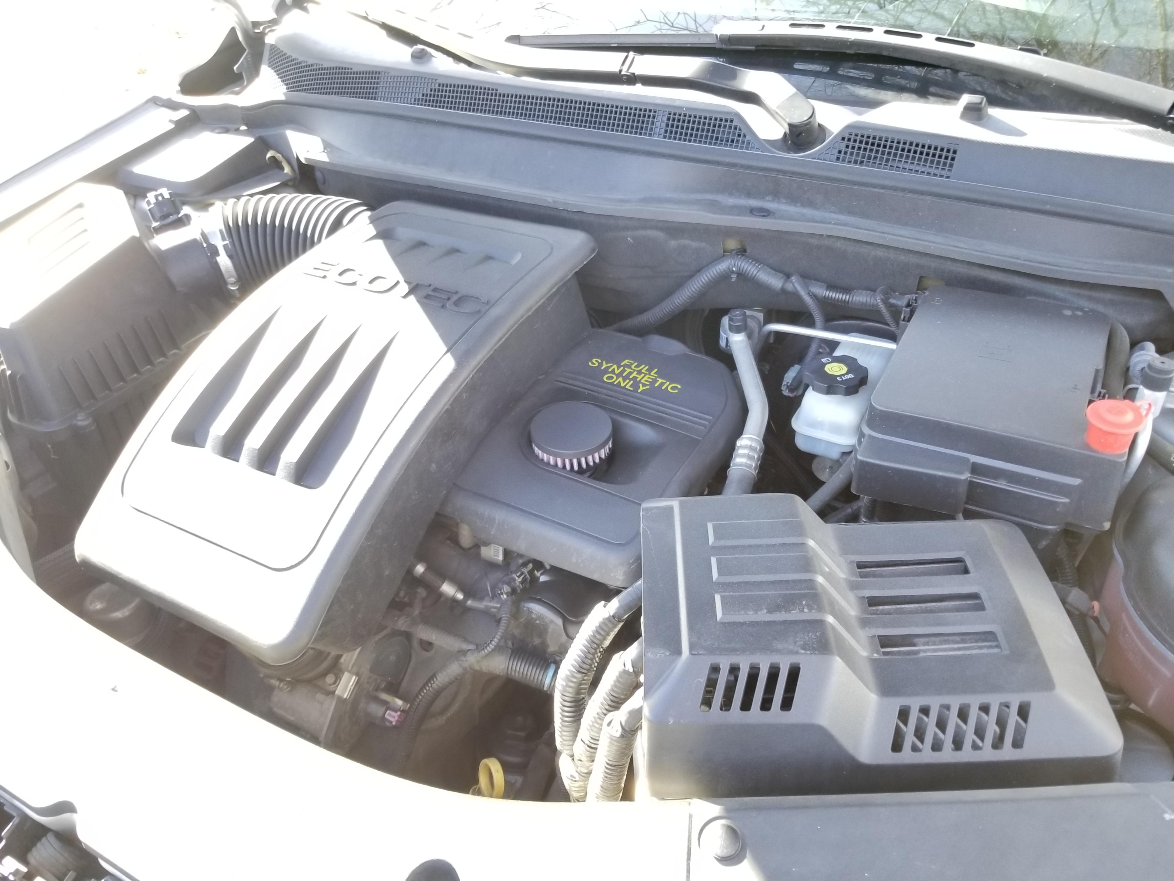 GM Service Bulletin 14882 - Blocked PCV valve causing Rear